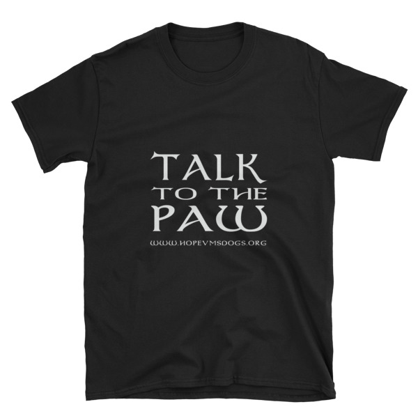 Talk to the Paw – Short-Sleeve Unisex T-Shirt