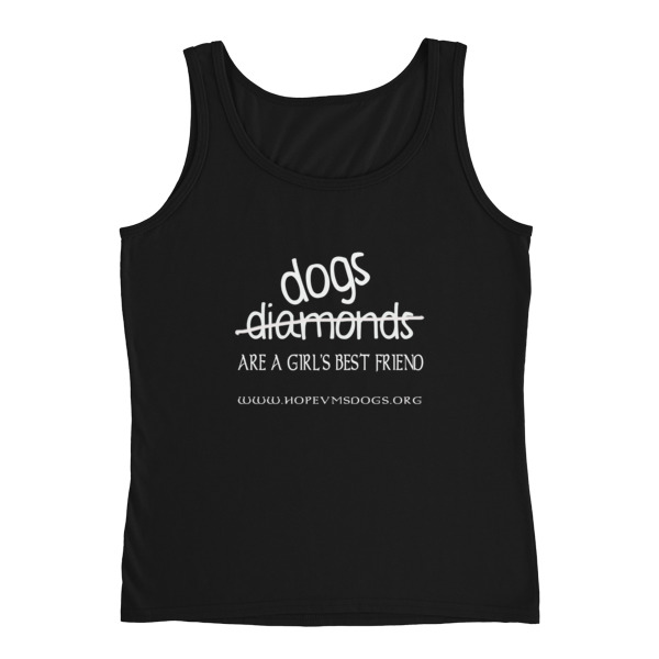 Dogs are a girl's best friend – Ladies Tank