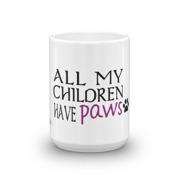 All my children have paws – Mug