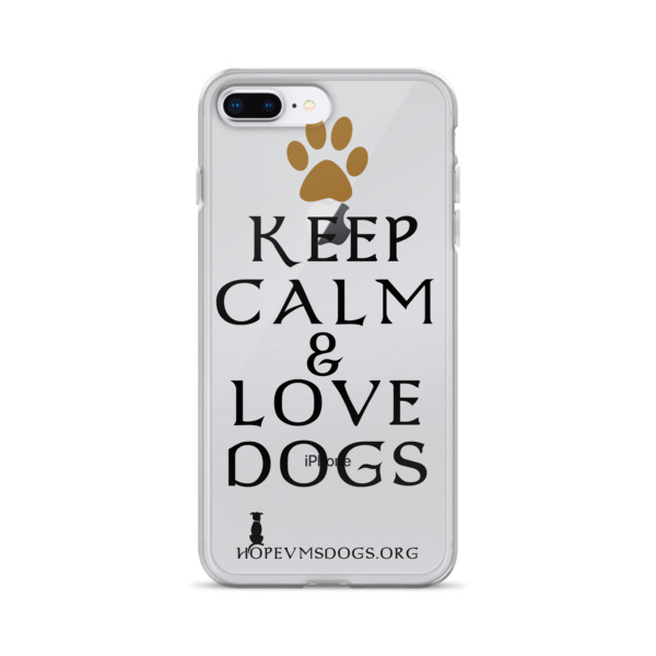 Keep Calm & Love Dogs – iPhone Case