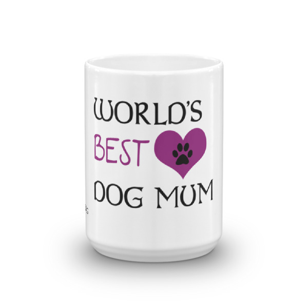 World's best Dog Mum – Mug